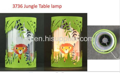 lampe de table jungle fun pour enfants