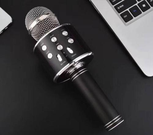 Wireless Karaoke Microphone USB KTV Player Bluetooth Mic Speaker