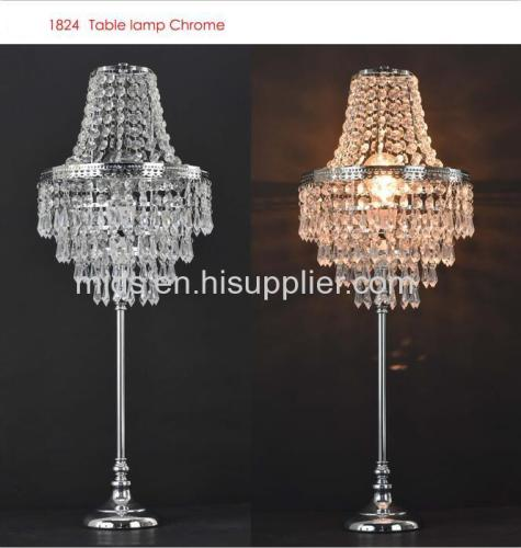 lampe de table en perles d'acrylique de blenheim