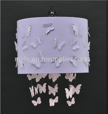 Laser Cut Butterflies Pendant for Girl