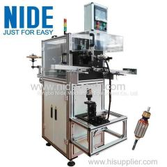 Automatic motor armature rotor slot insulation wedge inserting machine