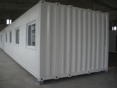 container homes 40ft HQ luxury prefab modular modern villa