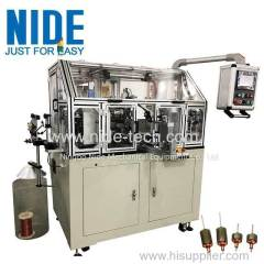 Automatic armature motor rotor coil winding machine