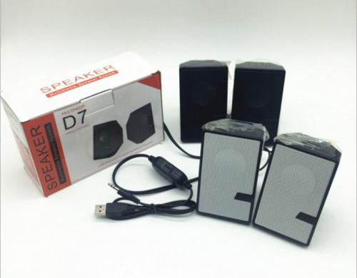 high Qulity portable laptop speakers USB 2.0 Multimedia Stereo