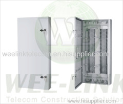 600 pair distribution box outdoor type wall mount type