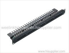 Patch Panel 25 Port 1U CAT3 Krone IDC