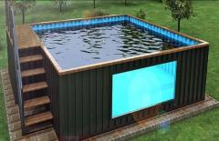 modular pool shipping container pool