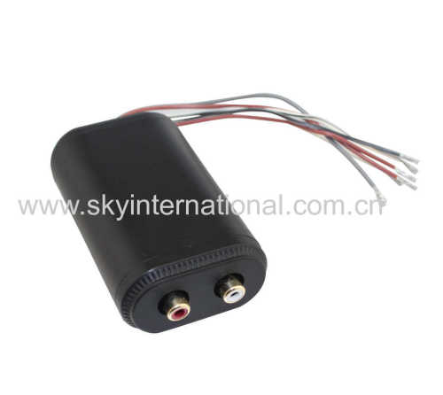 Adjustable line output converter for Car audio Radio