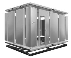 коммерческие холодильные модульные холодильные камеры для хранения пищевых продуктов с полиуретановыми сэндвич-панелями