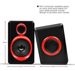 3.5mm Subwoofer Speaker Multimedia Loudspeaker Sound box Speaker for the Computer Mobile Phone Speaker