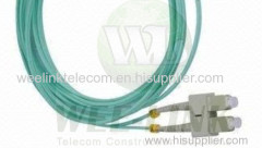 duplex optical patchcords single mode patch cord fiber optic lc to lc