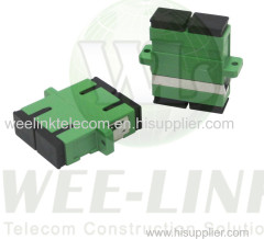 LC single mode 4Core Quad Symmetrical-Type Fiber Optic Adapter