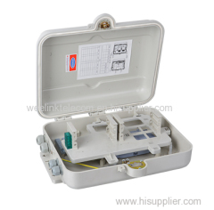 Outdoor IP65 Waterproof 8 12 16 24 Core FTTH Fiber Optic Termination Distribution Box