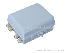 8 cores fiber optic termination box