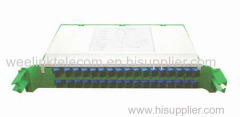 Tray Type PLC Fiber Optical Splitter