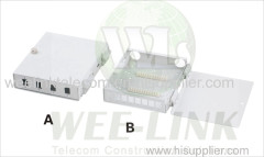 8port diber optic splicing box