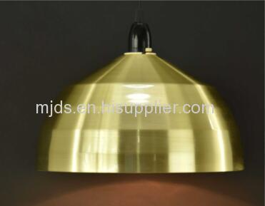 Spun Metal DIY Lampshade For Dinning Room
