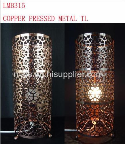 Cylinder Table Lamp Rose