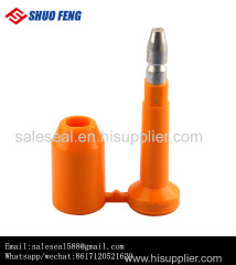 Tamper Evident High Security container bolt seal