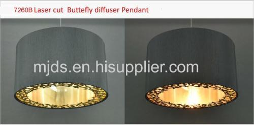 Auburn Butterfly Pendant Charcoal