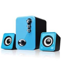 Usb Multimedia Stereo Computer Speakers 2.1 For PC Desktop Laptop Notebook Mobile phone Dual Subwoofer 3D sound