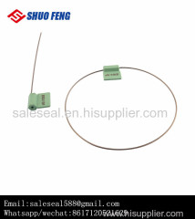UHF RFID High Security Stainless Steel Cable Seal with ISO17712