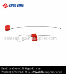 Adjustable High Security Cargo Steel Cable Seal with Barcode