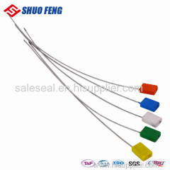 China Supplier Tamper Proof Logistics Metal Cable Seal