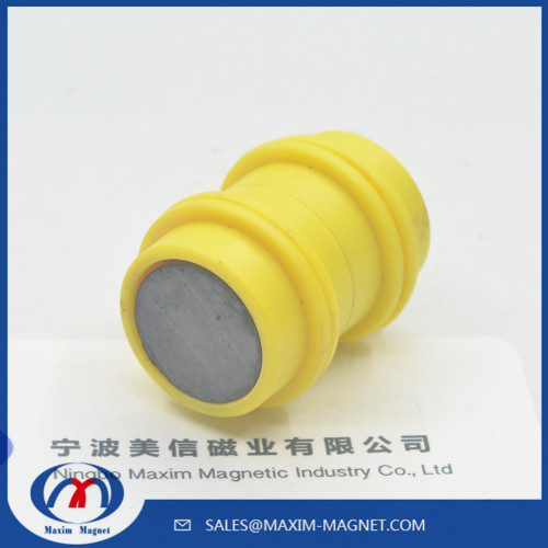 Colorful office button ferrite magnet in a plastic cap