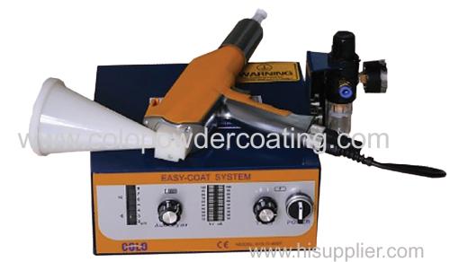 DIY powder coating gun