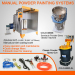 How much does powder coating equipment cost?