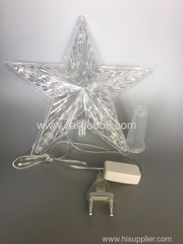 Christmas tree decoration LED lighted tree top star