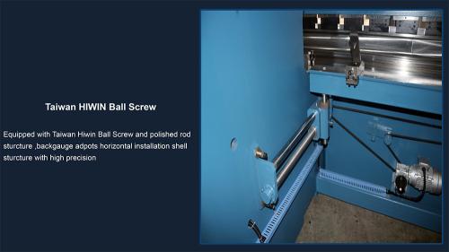 servo motor cnc bending machine press brake with 4 axis