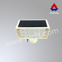 Contemporary waterproof solar caution light