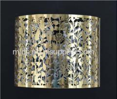 Lasergeschnittener Anhänger Gold / Silber / Kupfer