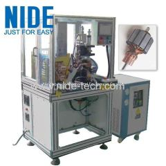 High precision armature Commutator spot welding hot staking Machine