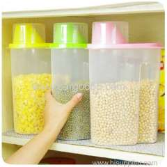 High Production food grade plastic container organize storage kitchenware Coarse grain storage