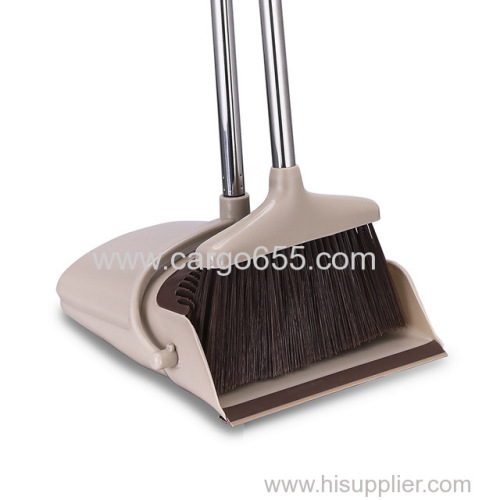 Customized broom and dustpan set broom stick parts Broom and Dustpan Set for House Hold and Lobby