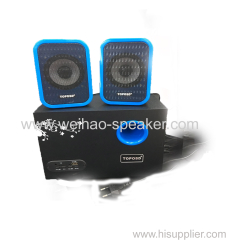 AC 220V 2.1 channel Multimedia Stereo Subwoofer computer speaker 2.1 for Laptop Desktop PC smarphone