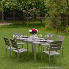 Garden wooden Sling dining set