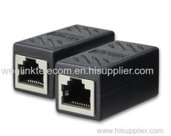 RJ45 Cat6 /cat7 Female to Female Inline Coupler for network communication