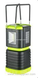 Camping Lantern with foldaway metal handle