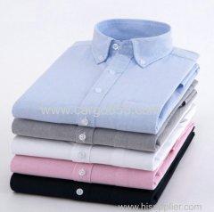 пряжа окрашенная оксфордская мужская рубашка