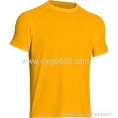футболка оптовой китайской спортивной одежды мужская спортивная одежда рекламная продукция производительность неоновая цветная полиэстер t shir