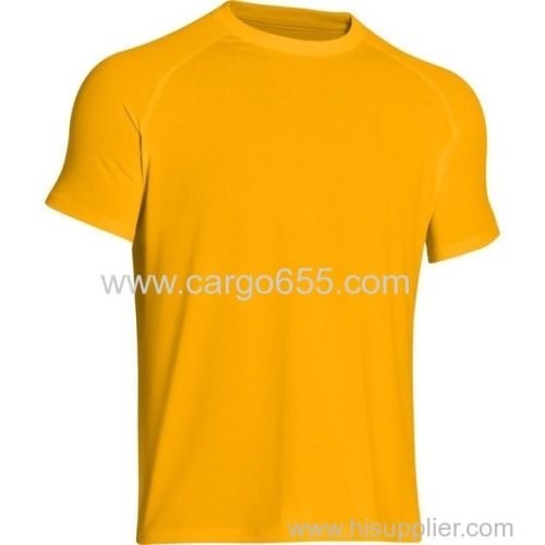 T shirt wholesale china sport wear mens gym clothes promotional products performance neon color running polyester t shir
