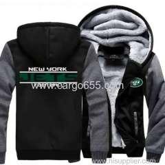новая мода американского футбола форму пакеры Джерси и утолщение зимняя куртка длинный рукав зима мужчин женщин спортивной одежды