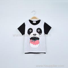 оптовые высококачественные 100% хлопок дети носят одежду летних детей панды