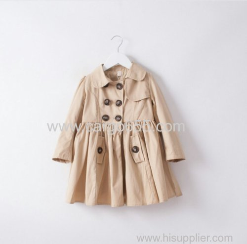Long Sleeve Children Garment raincoat for kids