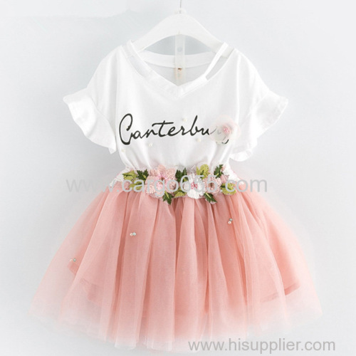 2018 Baby Tutu Dress Fashion Girl Clothes Stylish Party Wear Dresses for Girls Kids Frock Infant Clothing Toddler Garmen