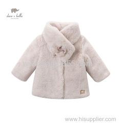 davebella зимние девушки пальто детей верхняя одежда бутик детская одежда